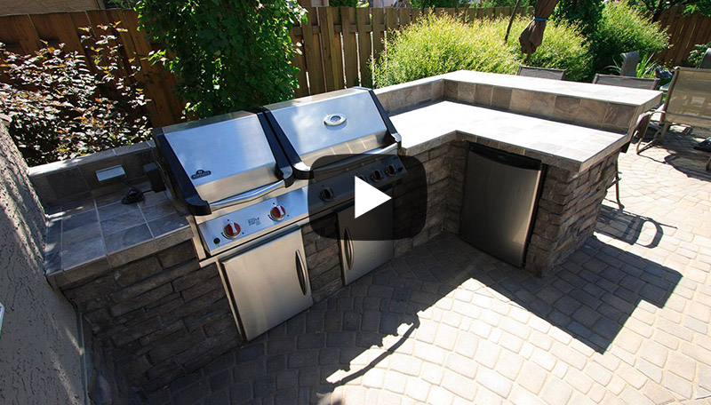 watch video on Watch our outdoor kitchens video